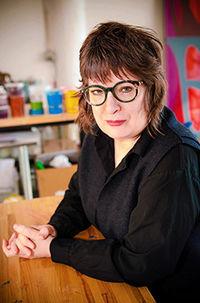 Carrie Moyer portrait