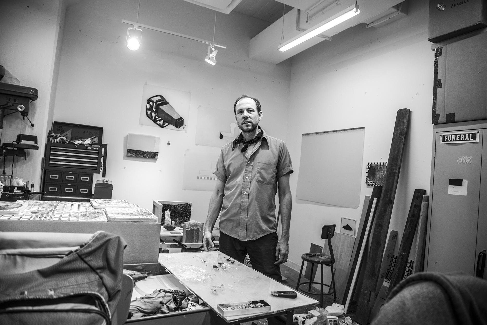 Joseph Burwell Studio Image