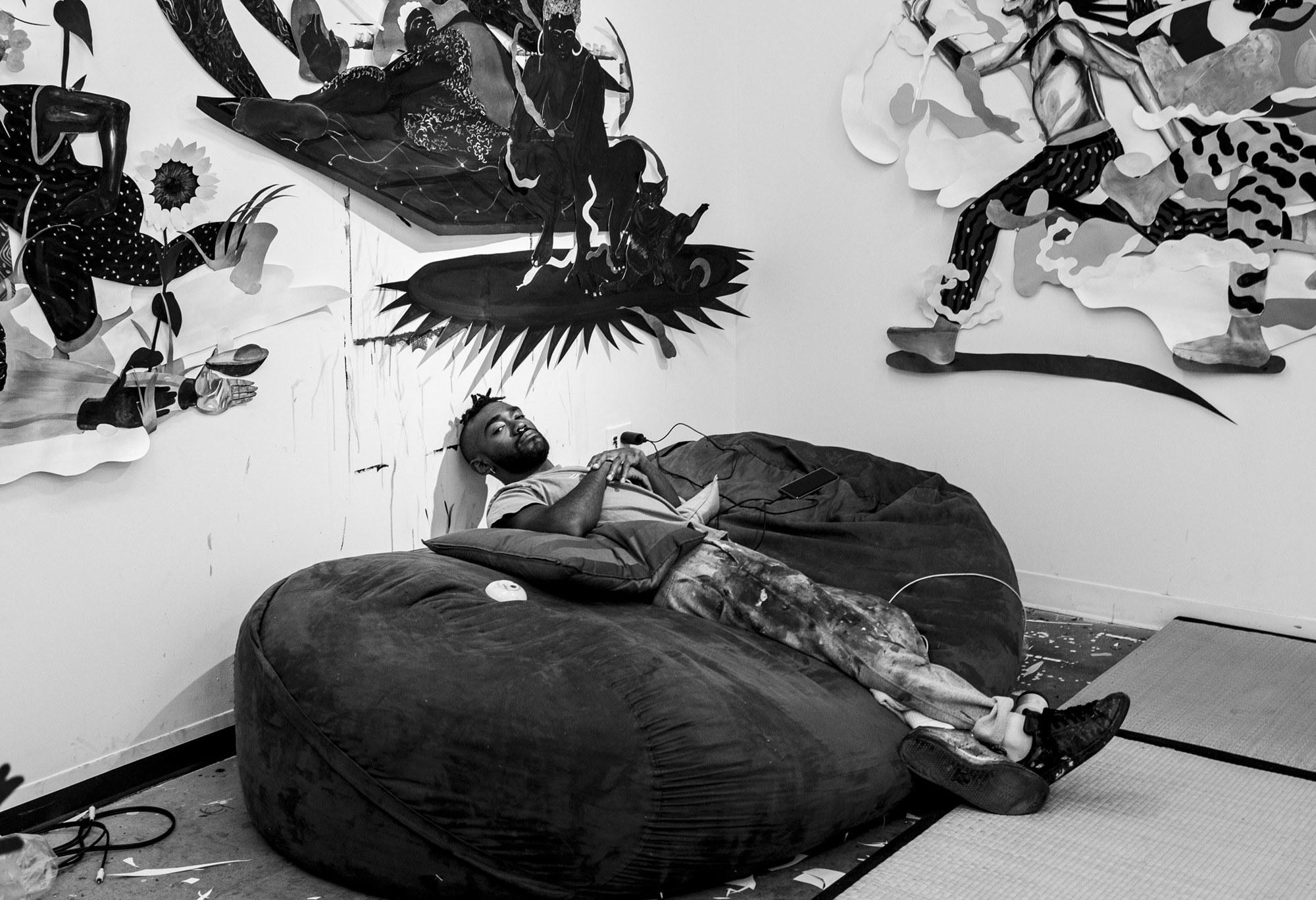 Khari Johnson-Ricks Studio Image