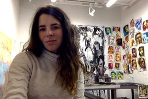 Mercedes Llanos portrait