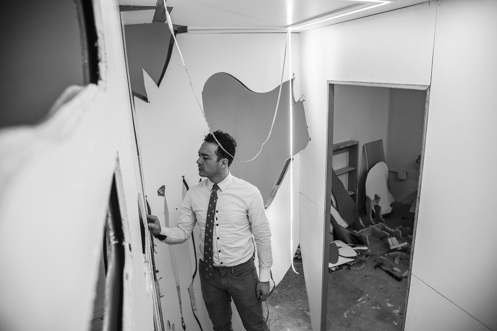 Nathan Sinai Rayman Studio Image