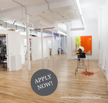 Hercules Art Studio Program Open for Applications for 2020 - 2021 MFA Graduates