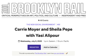 Carrie Moyer and Sheila Pepe in Conversation with Yasi Alipour