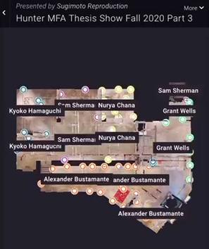 3D rendering of MFA Thesis Part III: Interstices